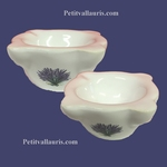 LITTLE INDIVIDUAL ASHTRAY LAVANDER DECORATION