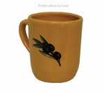 MUG WITH CUSTOMIZED NAME PROVENCAL COLOR + BLACK OLIVE