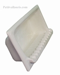 CARRY SOAP WALL CERAMIC TO BUILT WHITE COLOR ENAMELED