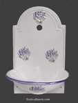 FAIENCE HAND WASHING FOUNTAIN MOUSTIERS TRADITION  DECOR