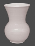 EARTENWARE VASE NADINE MODEL SIZE 1 MODEL WHITE COLOR