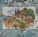 LITTLE WALL FRESCO OLIVE-TREE COTTAGE PAINT25 X 36 PROMO