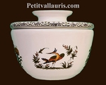 GRAND BEURRIER CONSERVATEUR BRETON TRADITION POLYCHROME