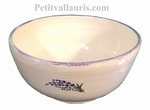 SALAD BOWL SMALL SIZE LAVANDER BRANCH LANDSCAPE DECORATION